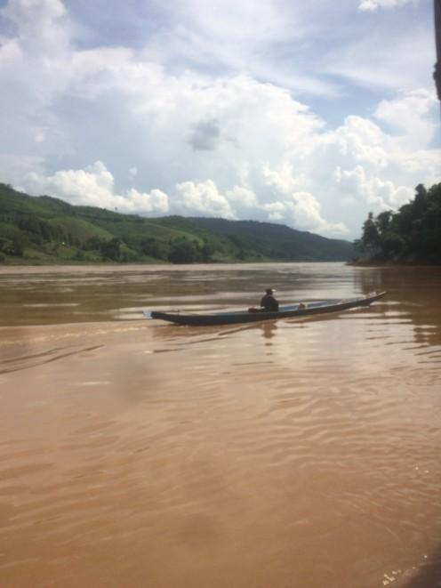 fishing boat luang prabang